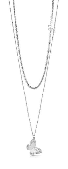 be7be59be Dámsky náhrdelník Guess s motýľom UBN78030   Presinsky.sk