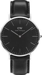 Hodinky Daniel Wellington Classic Black Sheffield Silver H25-853