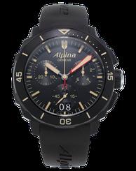 Pánske hodinky ALPINA SEASTRONG DIVER 300 BIG DATE CHRONOGRAPH AL-372LBBG4FBV6
