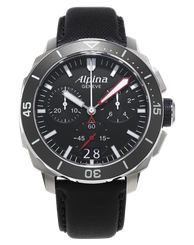 Pánske hodinky ALPINA SEASTRONG DIVER 300 BIG DATE CHRONOGRAPH AL-372LBG4V6
