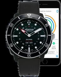 Pánske hodinky ALPINA SEASTRONG HOROLOGICAL SMARTWATCH AL-282LBB4V6
