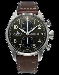 Pánske hodinky Alpina Startimer Pilot Automatic Chronograph AL-725GR4S6