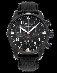 Pánske hodinky ALPINA STARTIMER PILOT BIG DATE CHRONOGRAPH AL-372B4FBS6