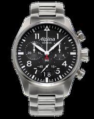 Pánske hodinky ALPINA STARTIMER PILOT BIG DATE CHRONOGRAPH AL-372B4S6B