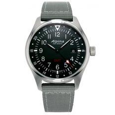 Pánske hodinky Alpina Startimer Pilot Quartz AL-247B4S6