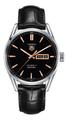 TAGHeuer CALIBRE 5 DAY-DATE AUTOMATIC WATCH 41 MM WAR201C.FC6266