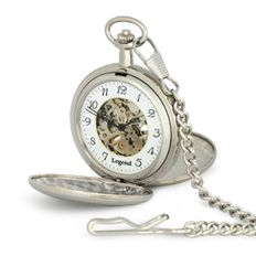Vreckové hodinky LEGEND 55529chr