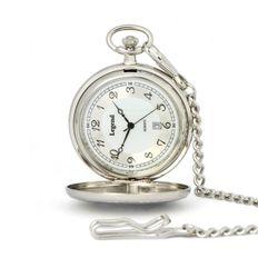 Vreckové hodinky LEGEND 85416chr