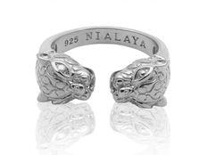 Dámsky prsteň Nialaya Panter strieborný