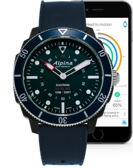 Alpina Seastrong Horological Smartwatch AL-282LNN4V6