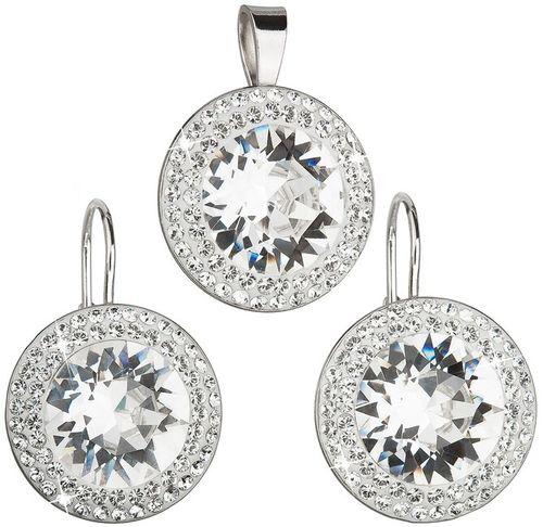Sada šperkov s kryštálmi Swarovski náušnice a prívesok 39108.1