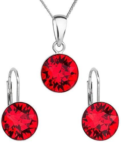 Sada šperkov Swarovski červená 39140.3