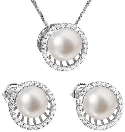 Set z bielych riečnych perál 29034.1