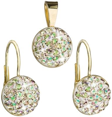 Sada šperkov s krištáľmi Swarovski - náušnice a prívesok 39086.6 ... 2a17d025415