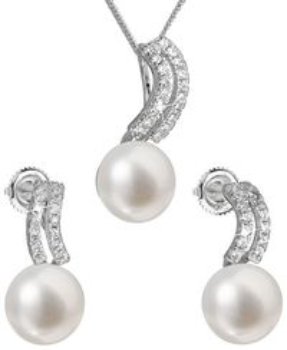 Set z bielych riečnych perál 29037.1
